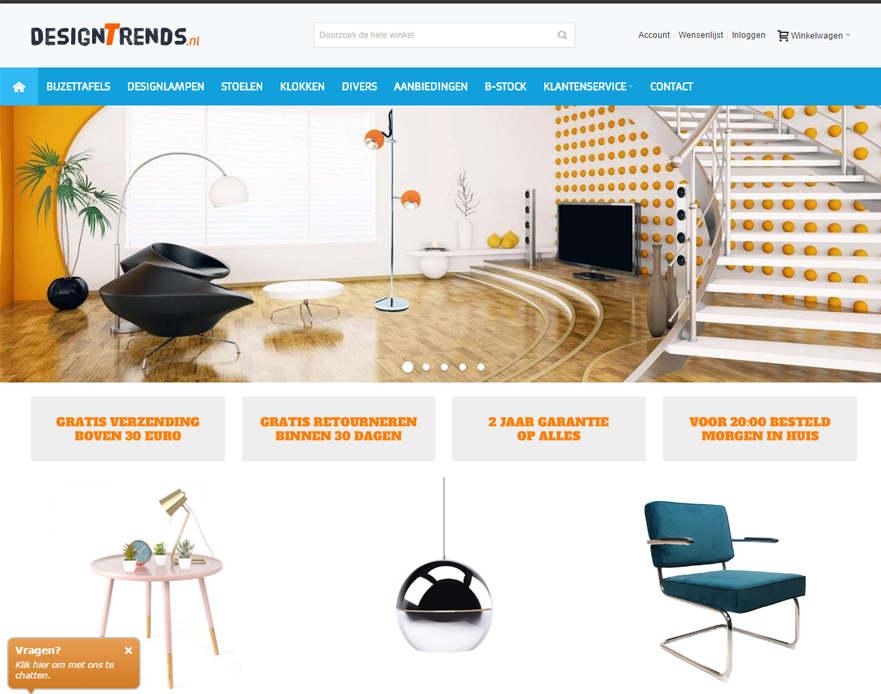 Designtrends responsive magento homepage