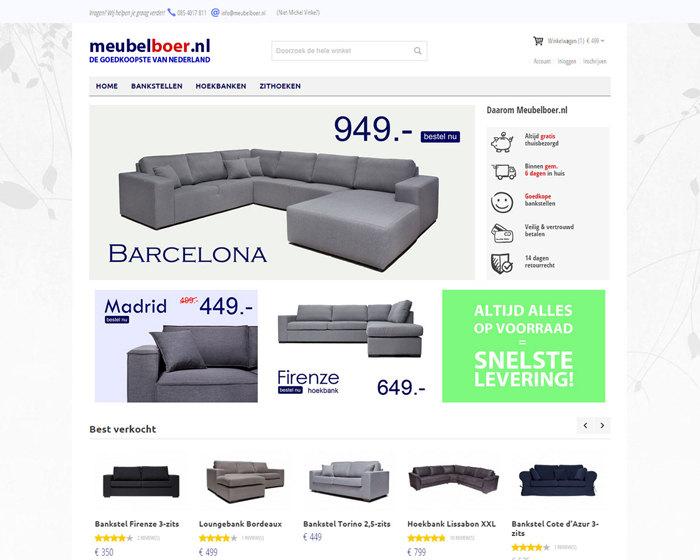 Meubelboer responsive magento webshop