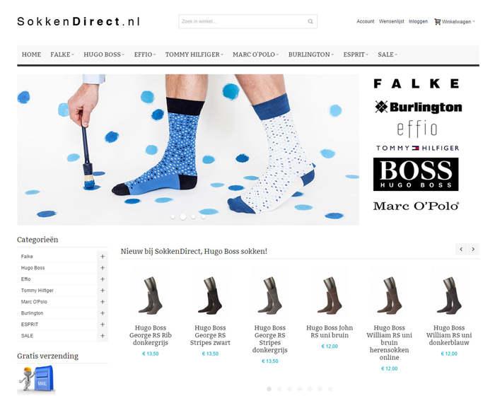 Sokkendirect responsive magento webshop
