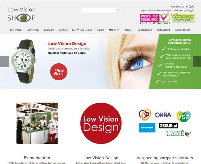 Webshop in audiovisuele hulpmiddelen