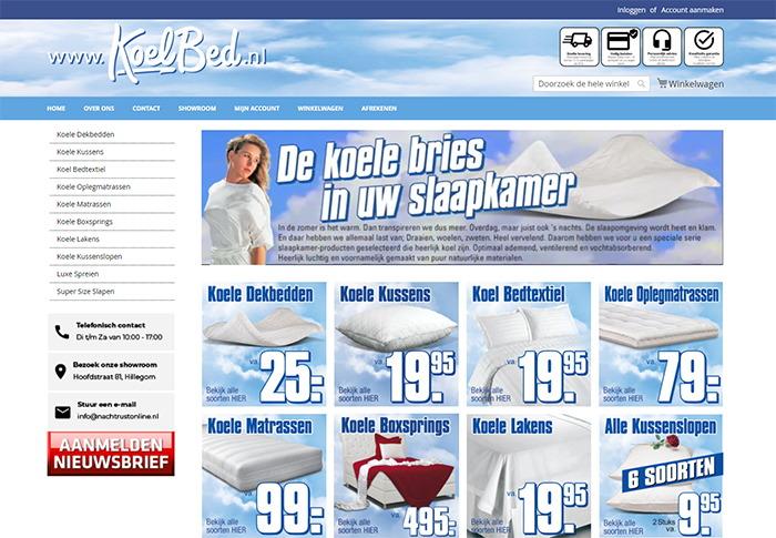 Koelbed - Luma Magento 2 webshop