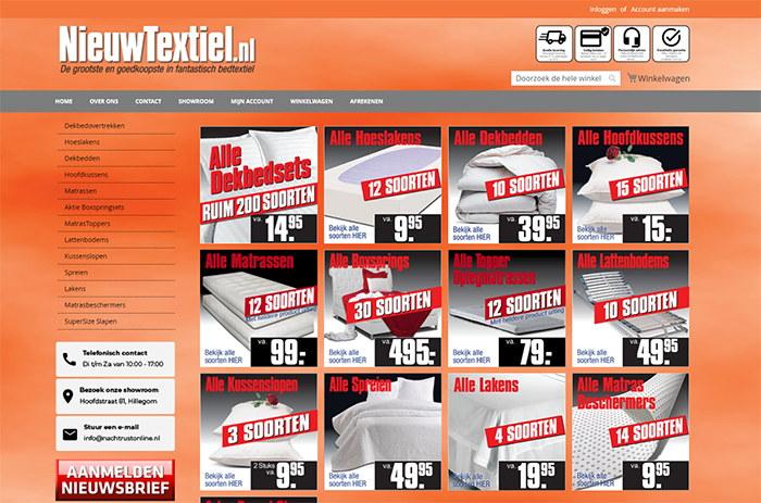 Magento 2 webshop Nieuwtexiel